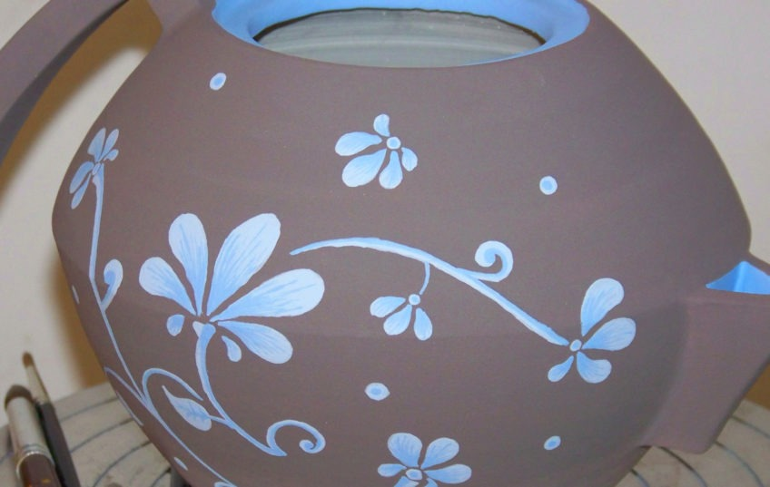 Decoration poterie